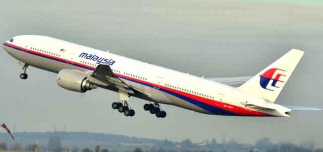Boeing 777 disparu  de la Malaysia Airlines