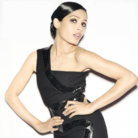 Freida Pinto top model et actrice Indienne