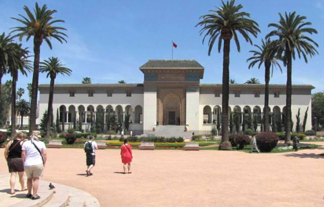 Maroc Casablanca Palais de justice place Mohamed V