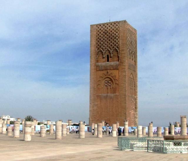 Maroc Rabat tour Hassan