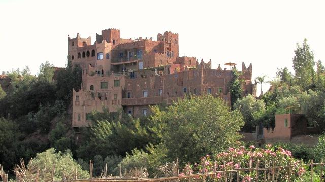 Maroc riche maison Berbère dans la vallée de l'Ourika