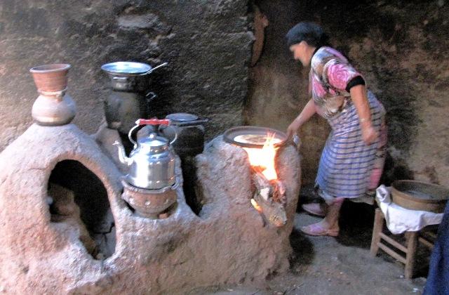 Restaurant Salam à Fès: l'espace de cuisine marocaine