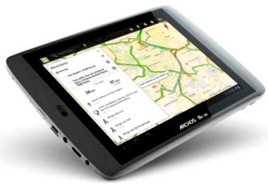 Tablette tactile Archos 80 G9 8Go conçue en France, fabriquée en Chine !